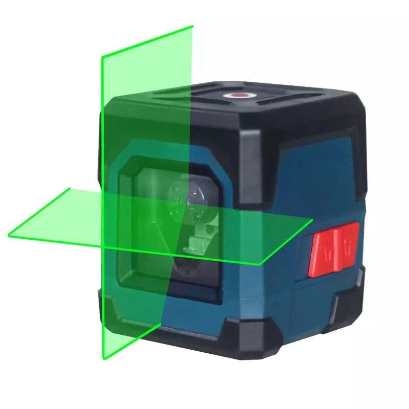 HANMATEK LV1 Laser Level Cross Linie Laser mit Messbereich 50ft, Selbst-Nivellierung Vertikale und Horizontale Linie