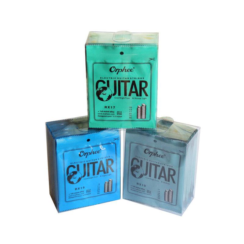 Orphee – cordes de guitare électrique en acier nickelé, avec emballage d'origine
