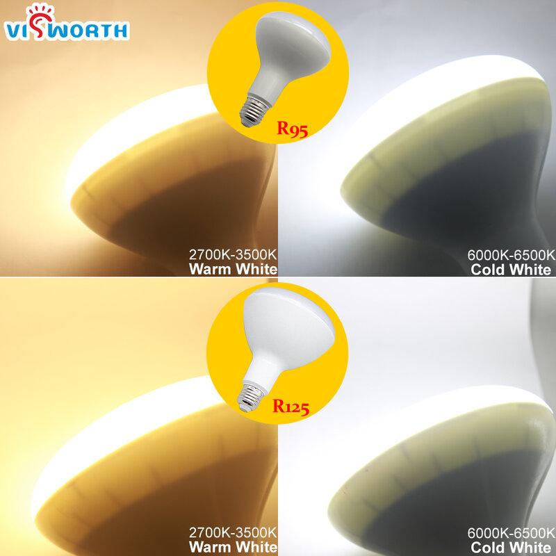 Bombilla Led R50 E14 E27, 3W, 5W, 7W, 9W, CA 110V, 220V, 240V, para decoración del hogar, ampolla, blanco frío/cálido