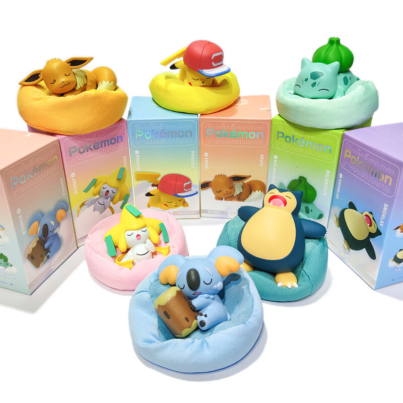 Pokemon Đầy Sao Giấc Mơ Loạt Nhân Vật Búp Bê Hoạt Hình Pokemon Ngủ Pikachu  Pokemon Đồ Trang Trí Thủy Triều Thương Hiệu Quà Tặng Sinh Nhật / Hành động  & Đồ