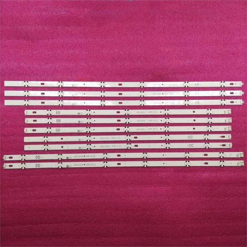 LED 백라이트 램프 스트립 LG 이노텍 17Y 60 인치 _ A type_Rev0.0 60UJ63_UHD A B C D 60UJ6300 60UJ6050 60UJ634V EAV63673006