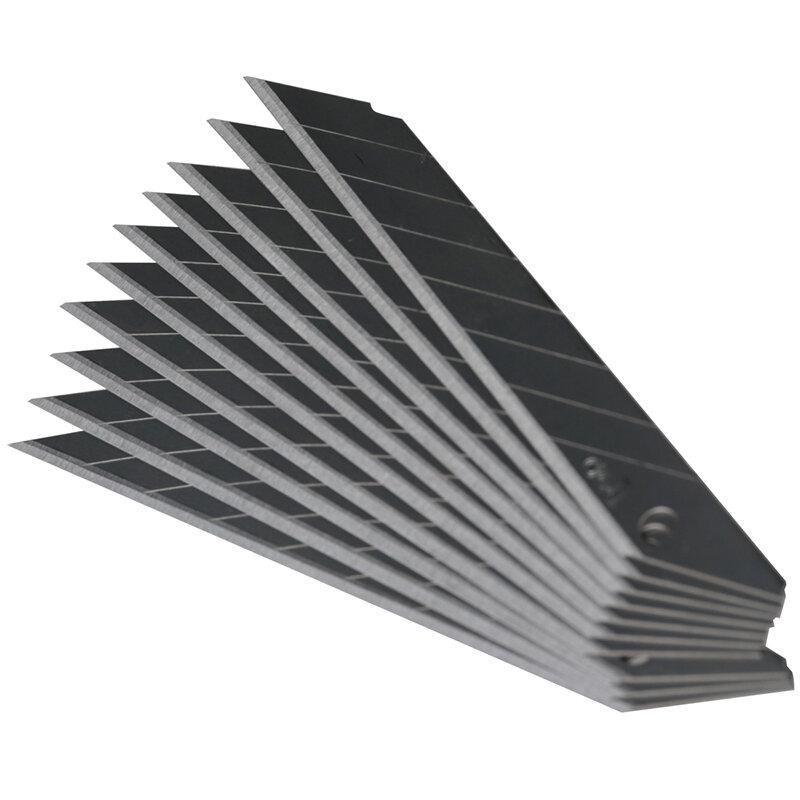 Cuchilla de Arte de 30 grados, recortadora de hojas de escultura, cuchillo utilitario General, 10 unids/caja, Deli2015