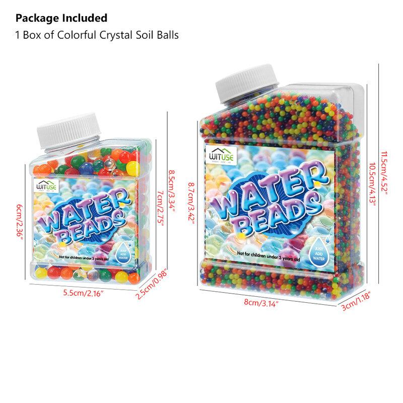 La magia de suelo de cristal, barro juguete de los niños de cuentas de agua para niños flores creciendo orbeez agua de hidrogel bolas casa decoración Macetas