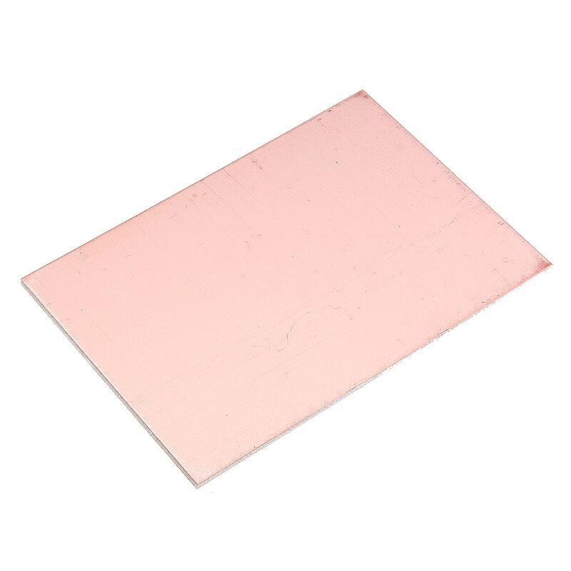 Placa PCB de un solo lado, placa revestida de cobre, 10x15cm, circuito laminado de fibra de vidrio, prototipo Universal electrónico artesanal, 5 uds.