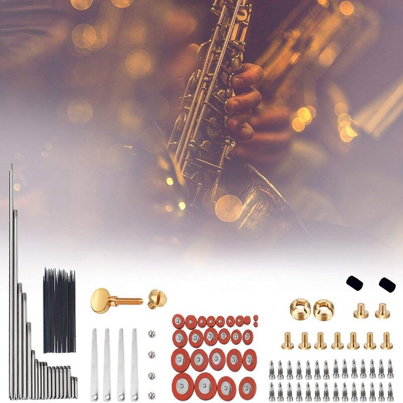 2pcs Alto Tenore Sax Soprano Sassofono Regolare Le Viti Per Strumento A