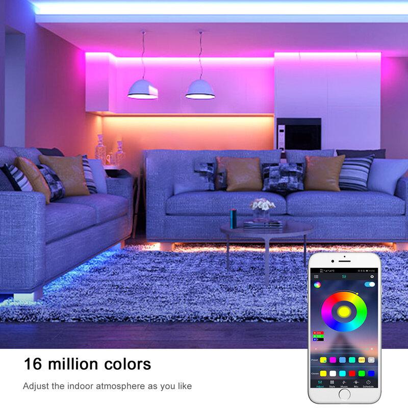 Tira de Luces Led RGB Flexible SMD 2835, 1M, 2M, 3M, 4M, 5M
