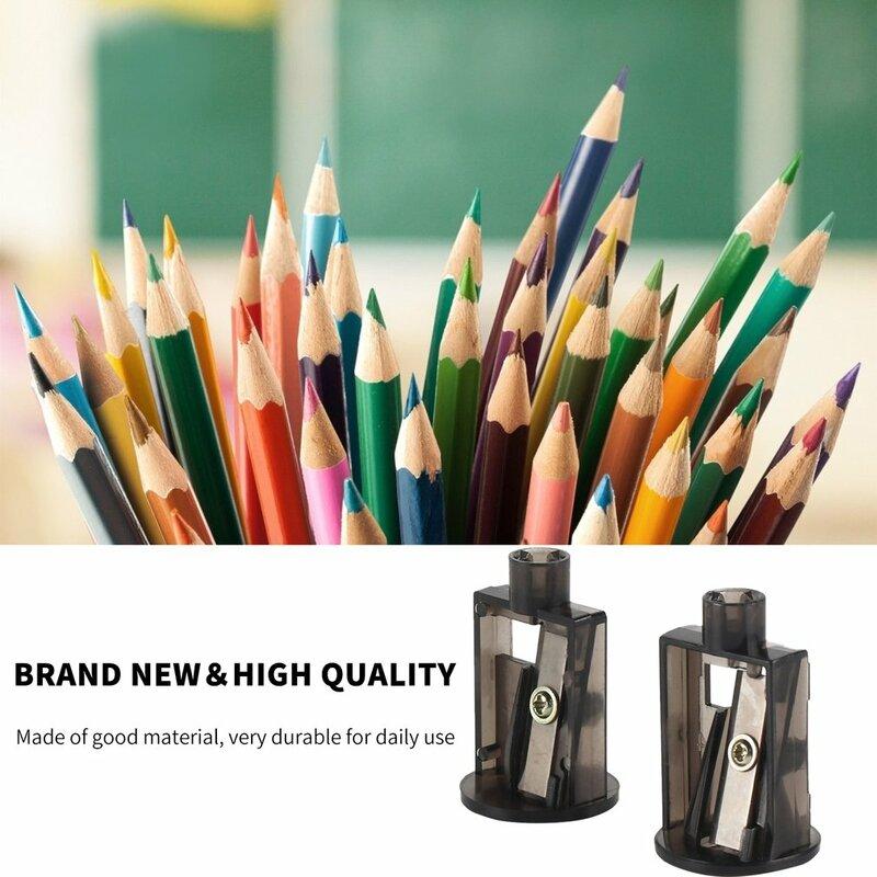 TENWIN 2 pz/set multifunzione elettrico automatico temperamatite lame Home Office matite arte disegno forniture
