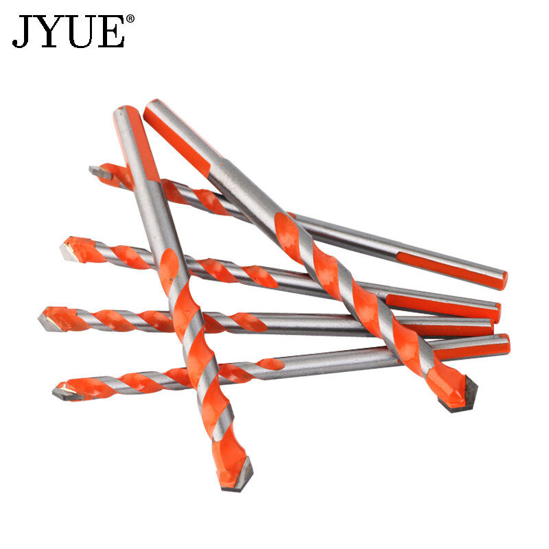 JYUE-broca profesional de aleación dura para taladro de hormigón, diámetro de 3/4/5/6/8/10/12mm, broca helicoidal