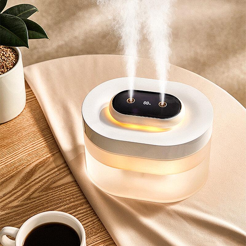 Umidificatore senza fili dell'aria del diffusore dell'olio essenziale della batteria dell'umidificatore 1000 mAh di aromaterapia del diffusore 2000 ml per la casa