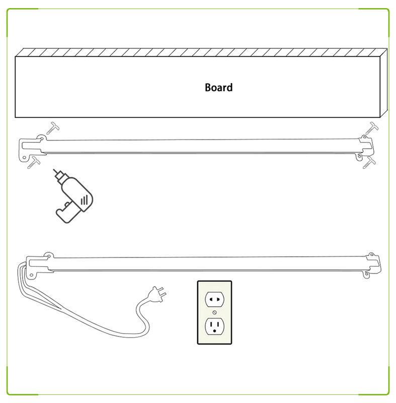 1-6Pcs 220V LED 바 빛 딱딱한 스트립 캐비닛 72 LED 투광 조명 튜브 라이트 바 홈 부엌 실내 조명 백라이트