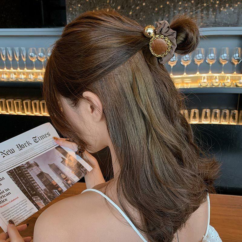 Instafamousrubber-Súper Hada de banda para el cabello de alta calidad para mujer, banda para el pelo de moda coreana, ligera y lujosa