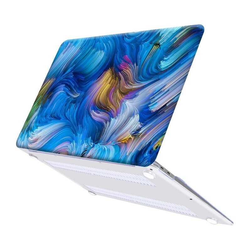 Cáscara Dura Funda De Portátil Para Apple Macbook Air Pro Retina 11 12 13 15 Y 13 A1932 A2179 Pro 13 15 Pro 16 A2141 Funda De Portátil Bestdealplus