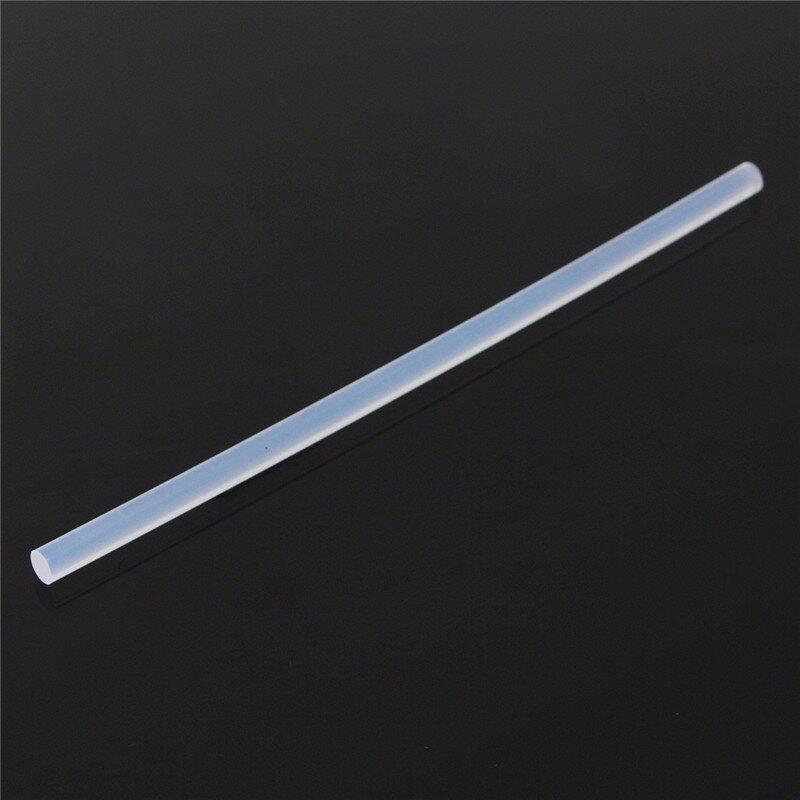 Bâtons de colle transparente, 7mm x 100mm 190mm 300mm, 50 pièces, pour pistolet à colle chaude, accessoires d'artisanat, Audio