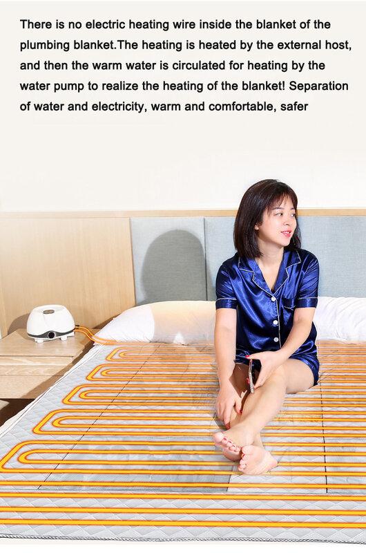 Coperta riscaldata ad acqua inverno acqua circolazione riscaldamento tappetino di ricambio solo tappetini 90x180cm 150x180cm 180x200cm