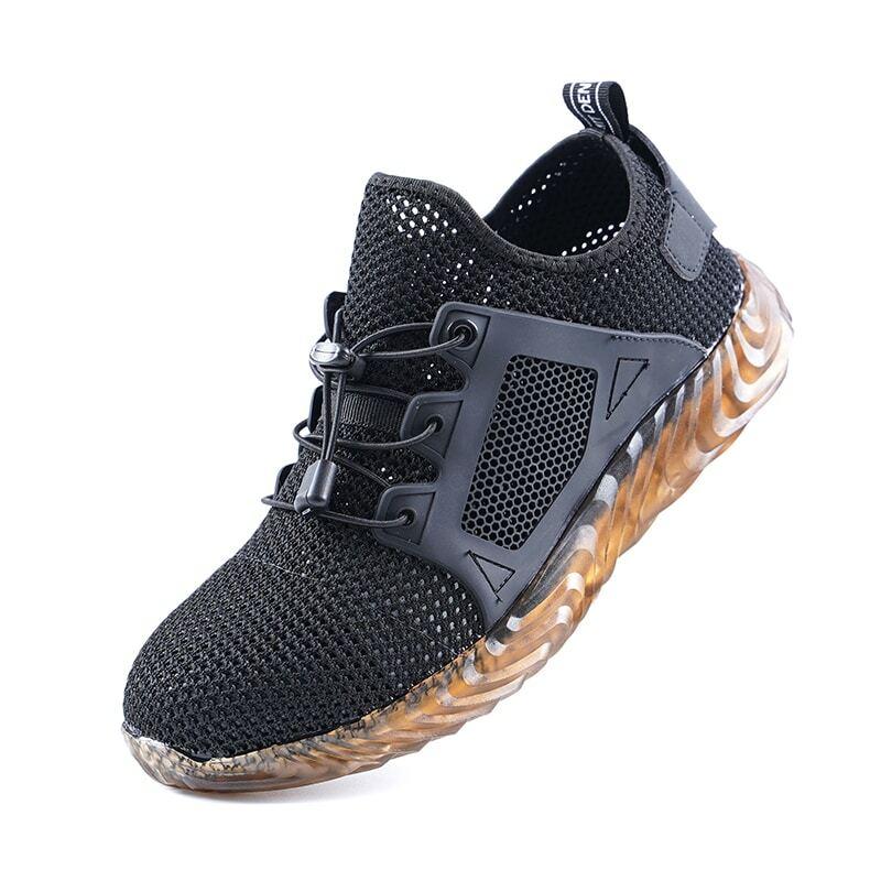 Chaussures de sécurité pour hommes, baskets de travail légères, résistantes à la perforation, bout en acier, hiver