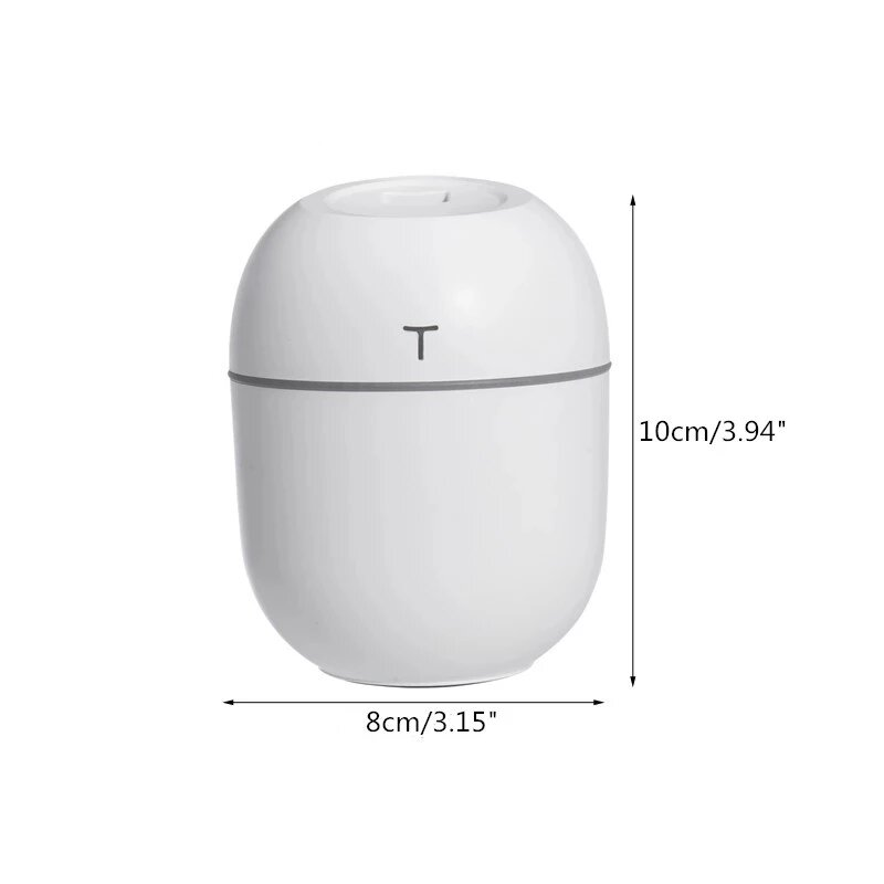 Diffusore di aromaterapia umidificatore diffusore di olio per Fogger USB domestico nebulizzatore con nebulizzatore ad ultrasuoni strumento silenzioso