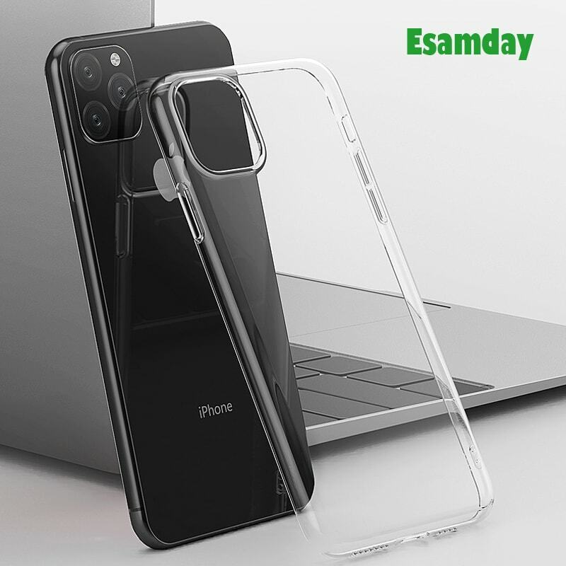Di lusso Trasparente Molle di TPU Cassa Del Telefono Per il iPhone 12 mini 11 Pro Max 7 8 6 6s Plus 7 più di 8 Più di X XS MAX XR Trasparente 5 5s SE 6sPlus