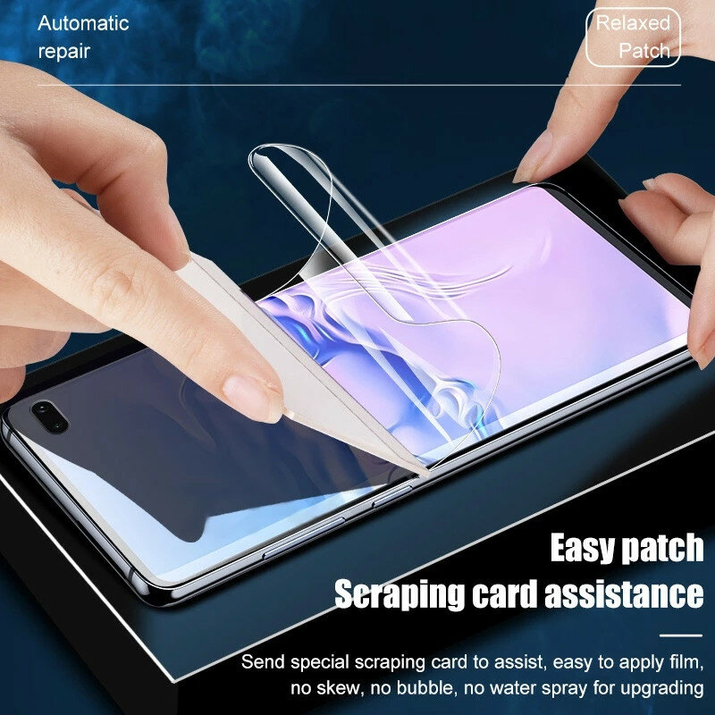 999D Hydrogel Film For Samsung Galaxy S21 Ultra S20 Plus Screen Protector S10 Plus E S9 S20FE Note 20 10 9 8 5G S 21 Not Glass