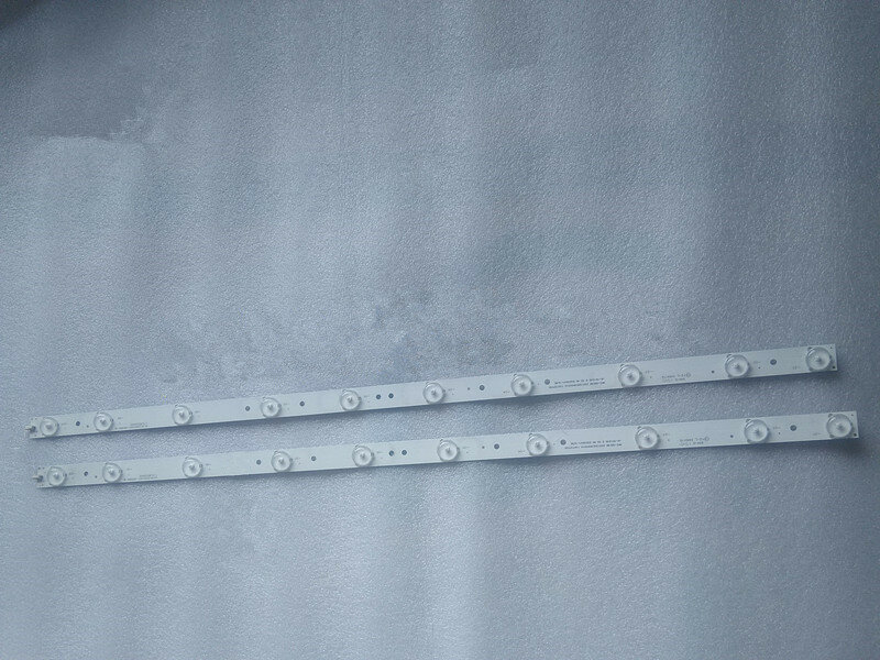 2pcs LED 스트립 SJ.HK.D3201001-2835BS-M HKC 332LHA01 H32PB1800 HKC-32C3N 10led