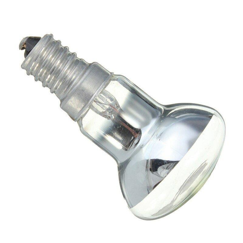 مصباح الحمم البركانية بديل E14 R39 ، لمبة إضاءة عاكسة شفافة ، لمبات خيوط متوهجة ، 30 وات