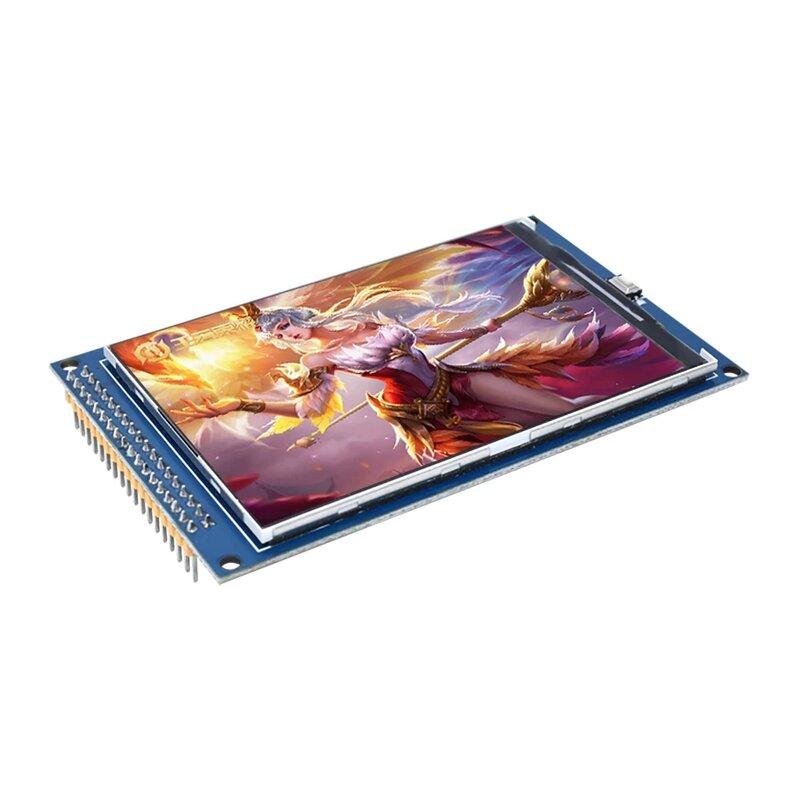 จัดส่งฟรี! 3.5 นิ้วโมดูล TFT lcd Ultra HD 320X480 สำหรับ Arduino MEGA 2560 R3 Board