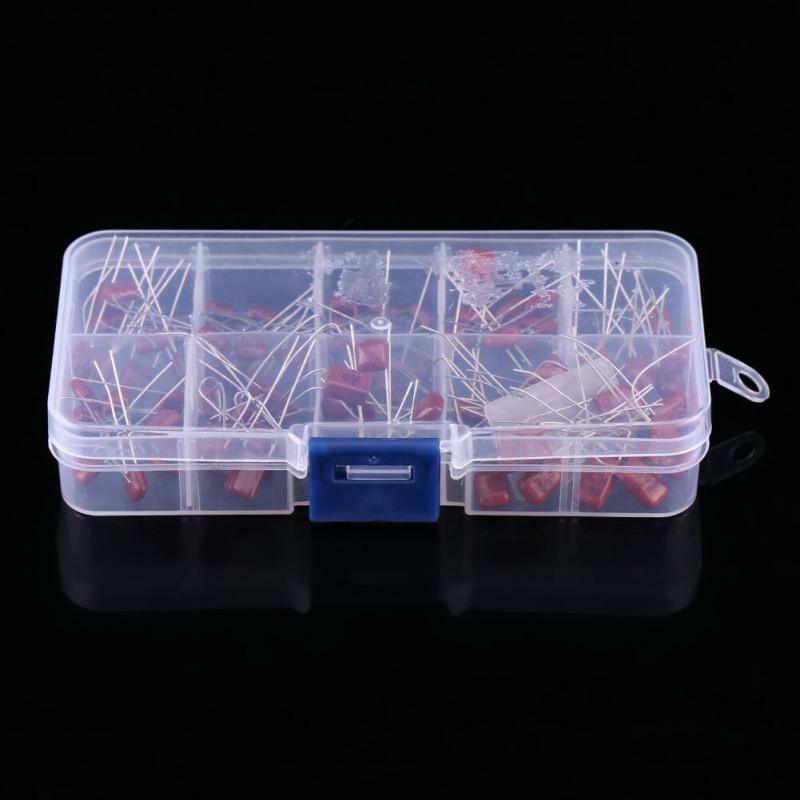 100 stücke CBB kondensator 10nF ~ 470nF Metallisierten Film Kondensator Alle Werte