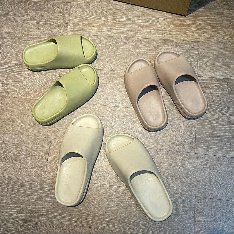 Męskie letnie nowe slajdy oddychające fajne plażowe sandały klapki odkryte palce i pięta mężczyźni i kobiety Graffiti kapcie lekkie