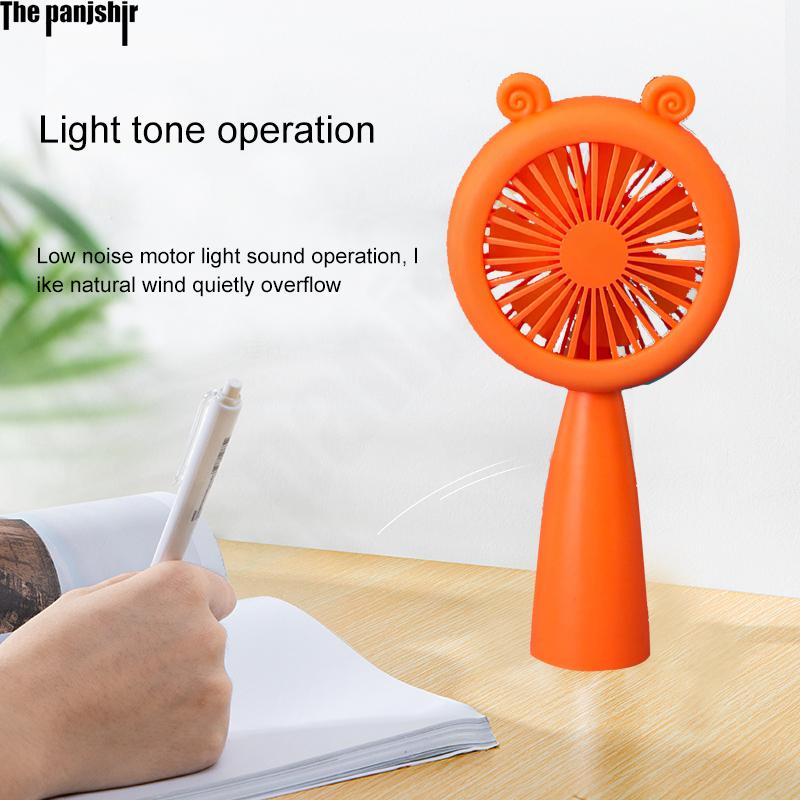 Handheld Fan Mini Fans Ventilador USB Aufladbare Fan Mit Nacht Licht Stille Kleine Fan für Home Ventilador de Mano Ventoinha