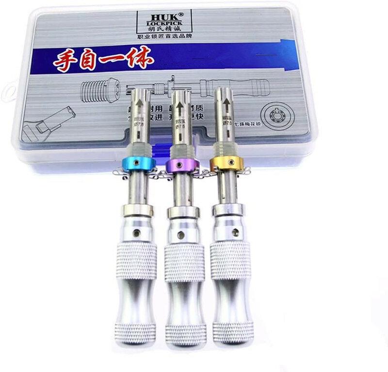 Einstellbare Tubular Safe Werkzeuge 3 in 1 Länger 7Pins 7,00 MM 7,5 MM 7,8 MM mit Schloss