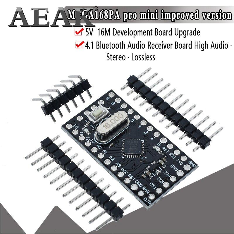 AEAKโมดูลMini Pro Atmega168 5V 16MสำหรับArduino Nano Microcontrol Micro Control BOARD