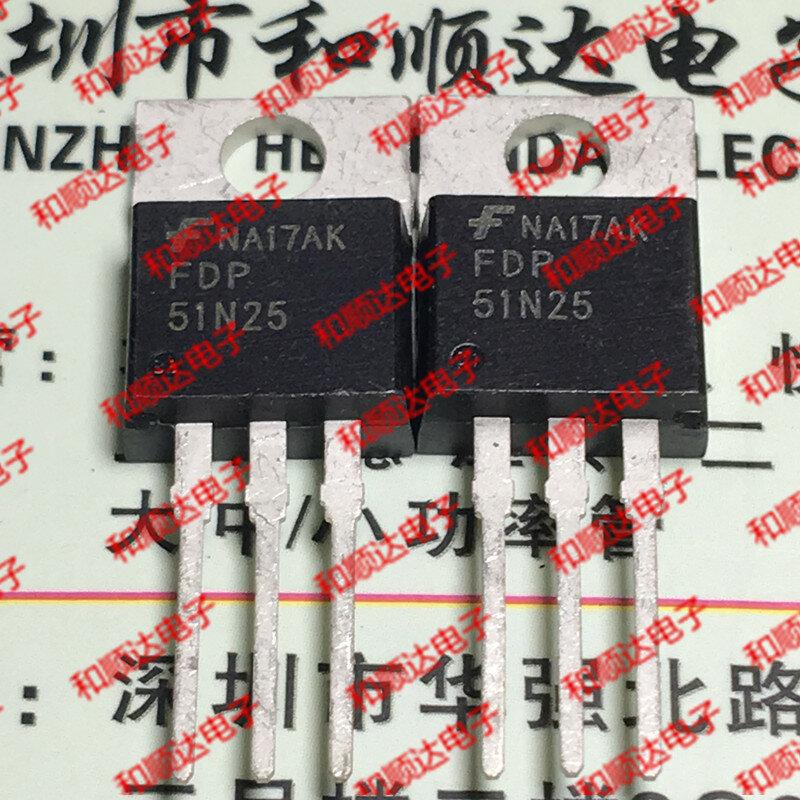 الأصلي جديد/5 قطعة/FDP51N25 إلى 220 250V 51A