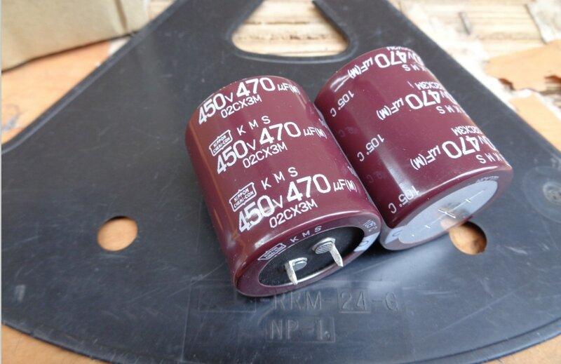 4 개/몫 원래 NIPPON KMS 시리즈 105C 알루미늄 전해 커패시터 고온 장수명 무료 배송
