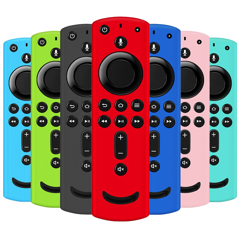 F TV 원격 제어 커버 화재 TV 스틱 4K 2 세대 및 3 컨트롤러 Alexa 음성 원격과 호환 보호 케이스