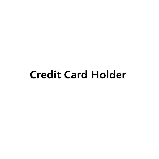 신용 카드 홀더