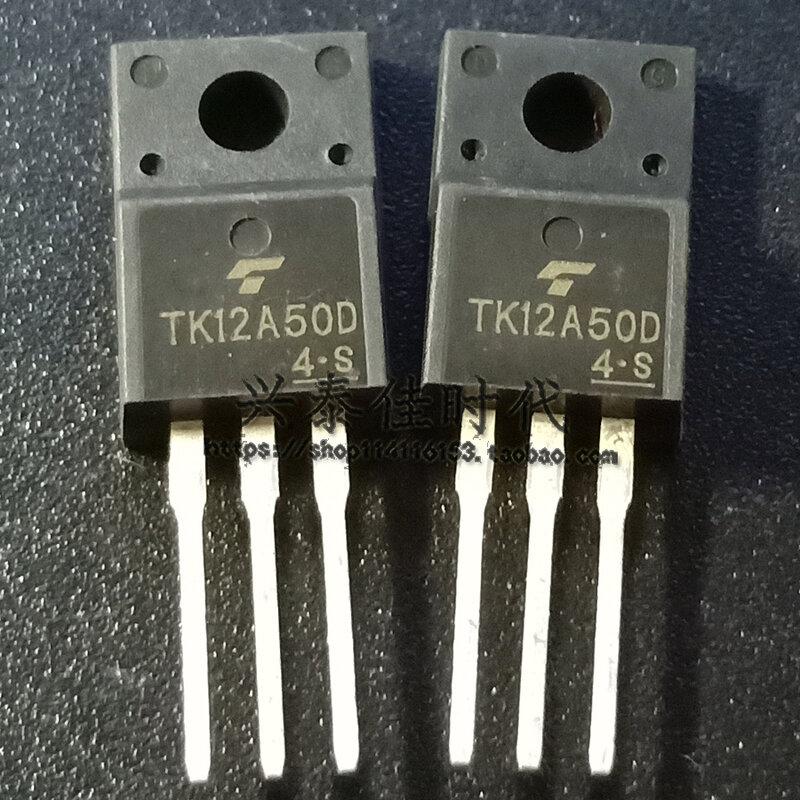 الأصلي جديد 5 قطعة/TK12A50D K12A50D 12A/500V TO-220F