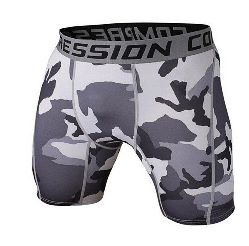 Männer Gym Kurze Leggings Fitness Compression Quick Dry Shorts Herren Lauf Shorts Jogging Bodybuilding Herren Athletisch Tights 2021