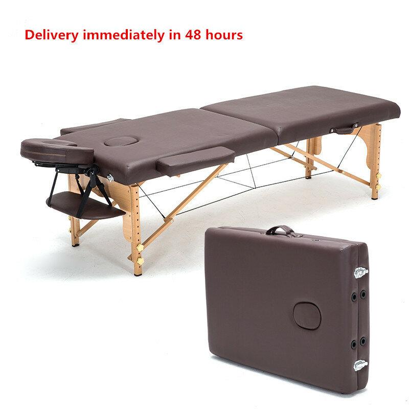 Professionelle Tragbare Spa Massage Tische Faltbare mit Carring Tasche Salon Möbel Holz Klapp Bett Schönheit Massage Tisch