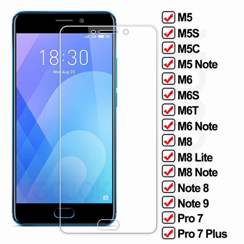 9D protectora de vidrio para Meizu M5 M6 M8 Nota 8 9 M8 Lite templado Protector de pantalla M6 S M6 T M5 C M5 S Pro 7 Plus película de vidrio de seguridad