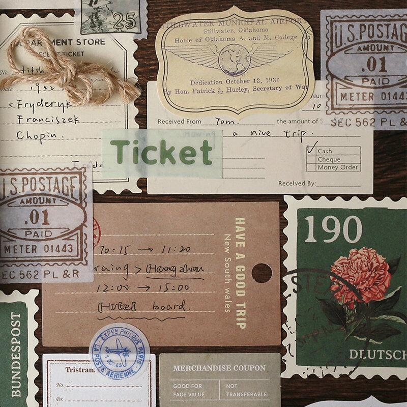Dimi 30 pz/pacco Vintage creatività nota carta fai da te Scrapbooking diario materiale decorativo pacchetto di carta scuola di cancelleria