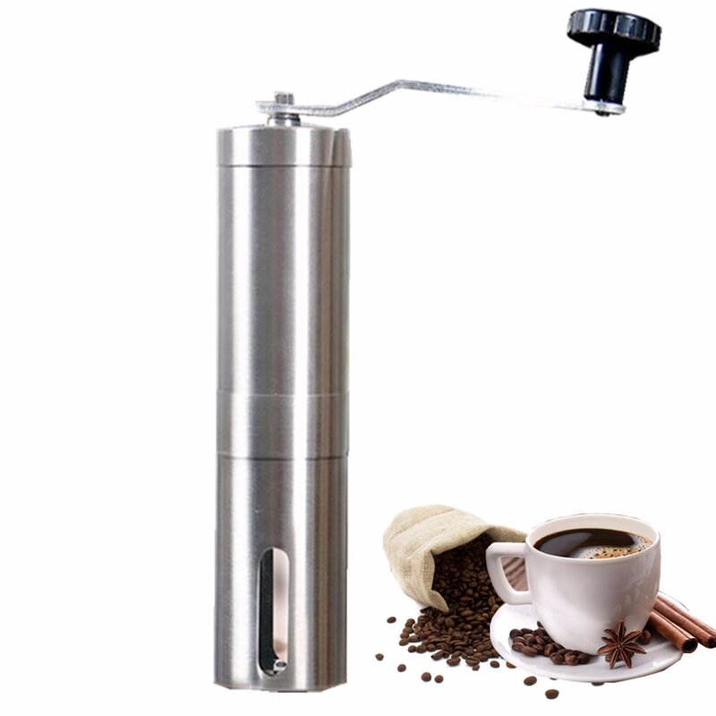 Manuelle Kaffeemühle Hand Stahl Keramik Core Kaffee Schleifen Hand Mühle Cafe Grat Mühle Grinder Keramik Mais Kaffee Maschine