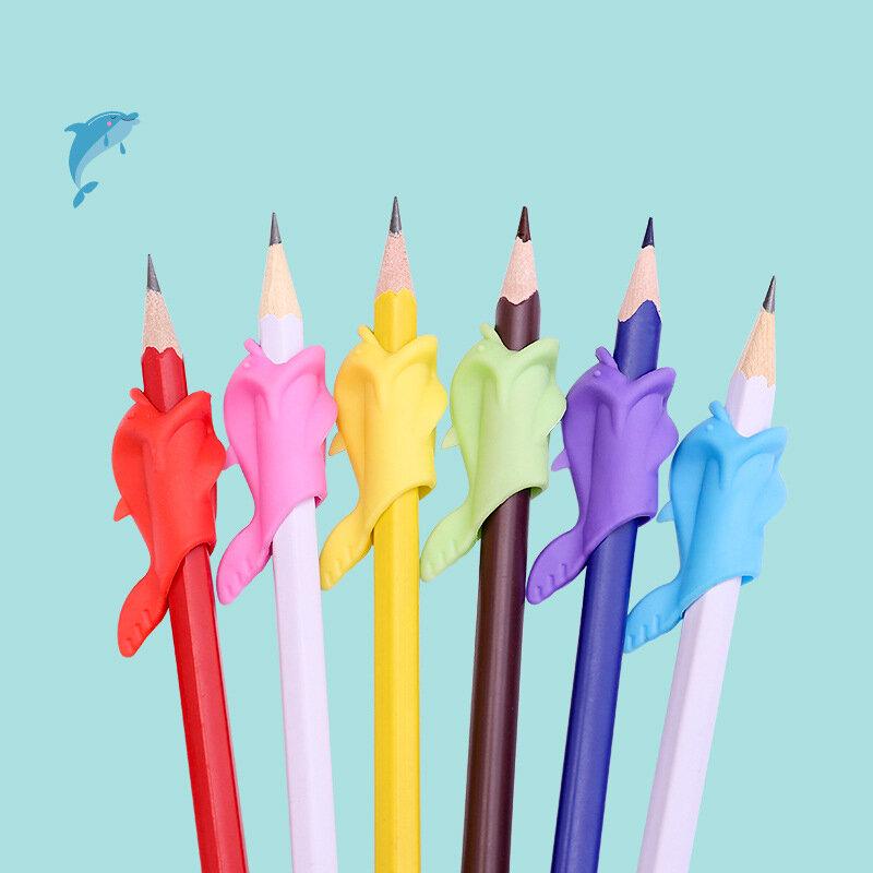 10 pièces partenaire d'apprentissage enfants étudiants papeterie tenue de crayon pratique dispositif pour corriger les Postures de stylo