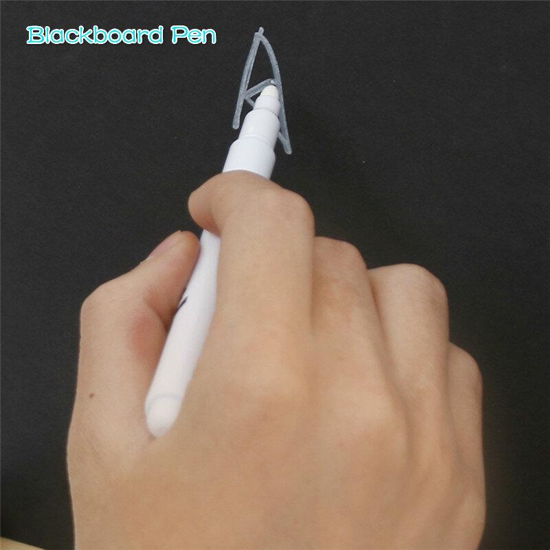 5/10/pz/Set lavagna penna gesso pennarello per finestre in vetro lavagna elettronica lavagna finestra penna bianca adesivo da parete