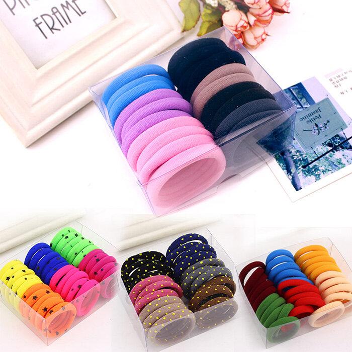 Korean Hair Accessories High Elastic Seamless Rubber Headband Head Rope Hair Band Tie Hair Black Hair Ring Elastic String Small