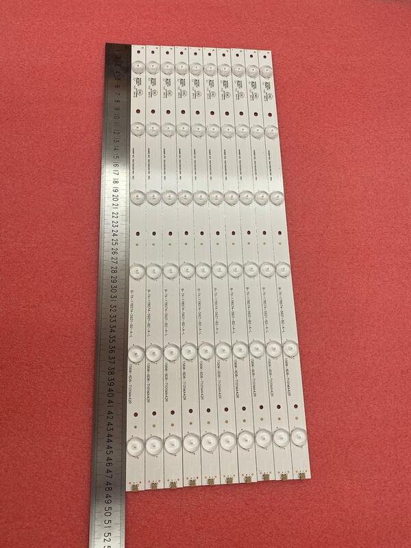 Nuevo 10 uds/lote, 6LED, tira de LED para iluminación trasera de 485mm para LED48K220 HD480DF-B32 RSAG7.820.5921/ROH