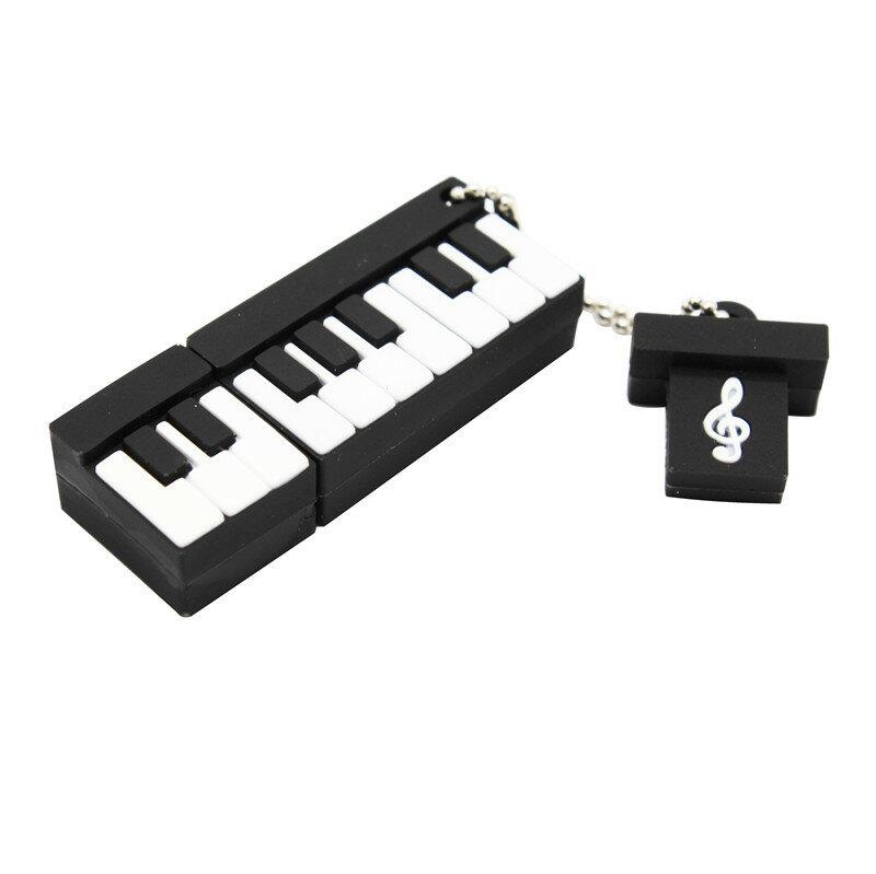 TEXT ME-محرك فلاش USB 2.0 ، 4 جيجابايت ، 8 جيجابايت ، 16 جيجابايت ، 32 جيجابايت ، 64 جيجابايت ، آلة موسيقية لطيفة ، آلة موسيقية ، كمان ، كمان ، ذاكرة فلاش