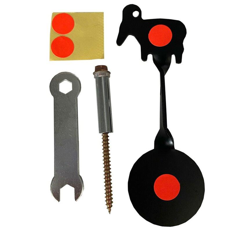 Bersaglio Bullseye bersaglio da tiro per fionda reattivo Splatter Paper Target Sticker caccia pratica strumento di aiuto alla formazione portatile