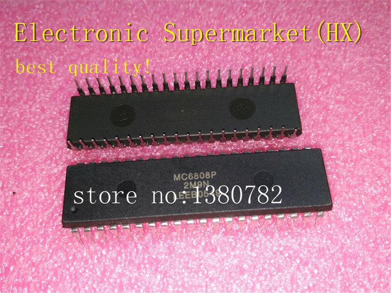 شحن مجاني 20 قطعة/السلع MC6808P MC6808 DIP-40 IC في الأسهم!