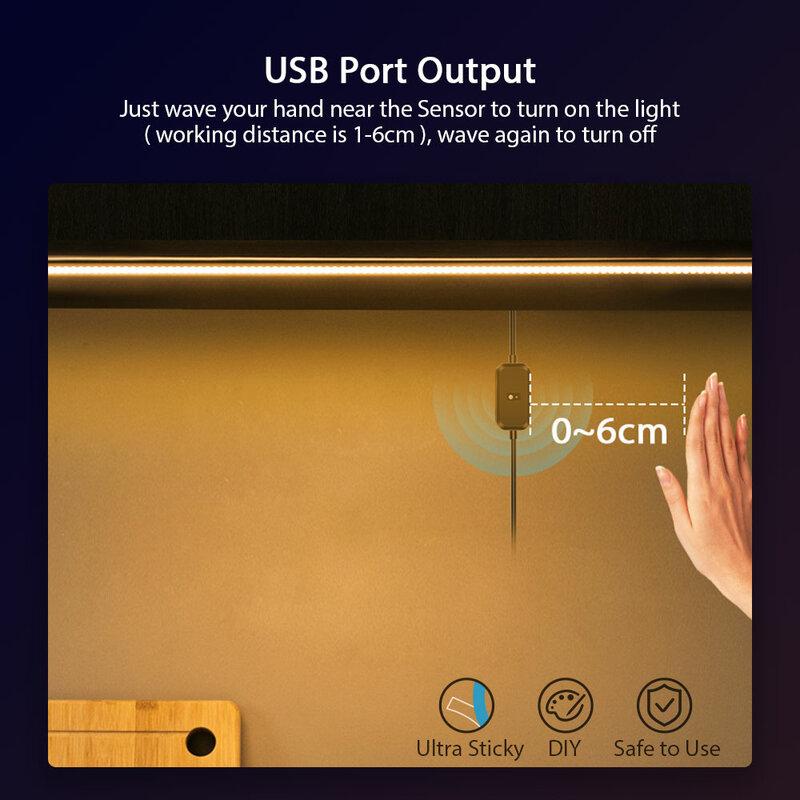 Suntech,5V USB Led 스트립 센서, LED 스트립 손 쓸기 흔들며 센서 조명 다이오드 조명 TV 백라이트, 주방, 옷장
