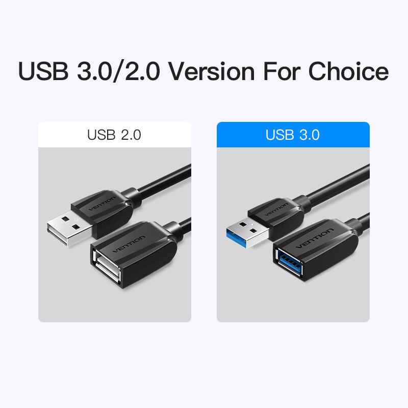 Tions USB 3,0 Verlängerung Kabel Männlich zu Weiblich USB 2,0 Verlängerung Draht Super Speed 3,0 USB Extender Daten Sync Kabel für Computer PC