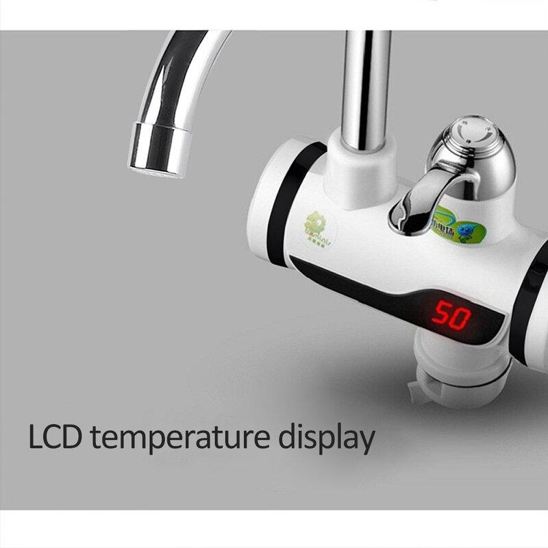 3000W 인스턴트 전기 온수기 탭 주방 수도꼭지 워터 필터 콘센트 모드의 2 종류는 직접 소비 할 수 있습니다